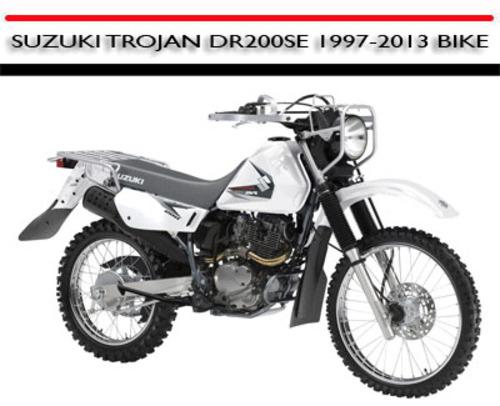 suzuki trojan dr200se 1997 2013 bike workshop repair manual downl rh tradebit com Yamaha V Star 250 Yamaha V Star 250
