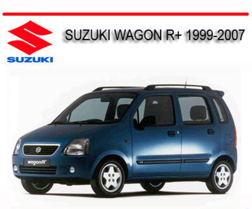 Suzuki Wagon R Plus 1999-2007 Repair Service Manual