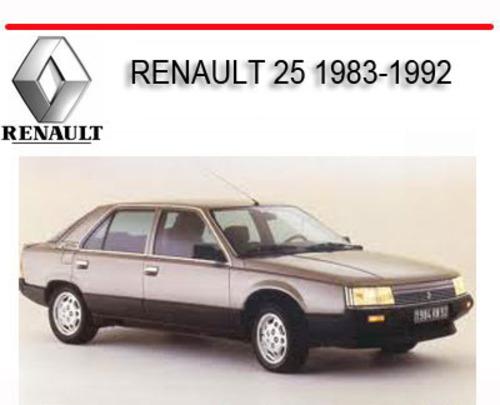 renault 25 1983