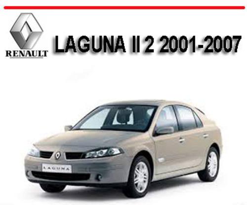 renault laguna ii 2 2001 2007 workshop service repair manual down rh tradebit com renault laguna 2 repair manual Interior Renault Laguna 2