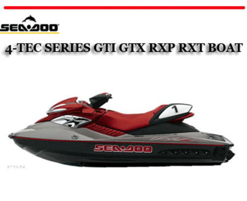 2015 Seadoo Gtx 4 Tec Manual