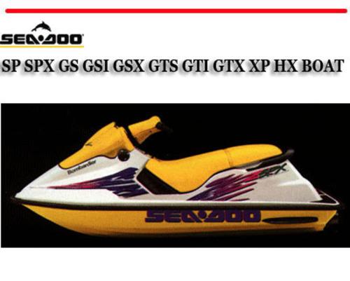 seadoo hx manual daily instruction manual guides u2022 rh testingwordpress co 1996 Seadoo XP 1995 Seadoo GTS Specs