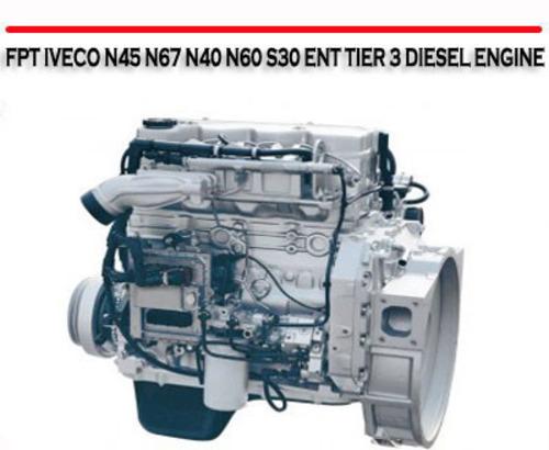 Fpt Iveco N45 N67 N40 N60 S30 Ent Tier 3 Diesel Engine