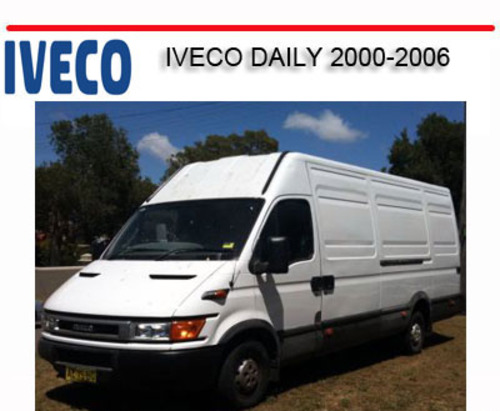 iveco turbo daily service manual pdf