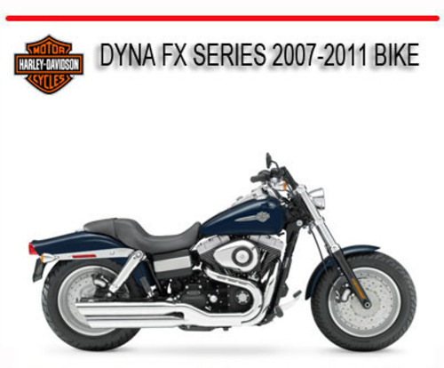 Pay for HD DYNA 2007-2011 BIKE REPAIR WORKSHOP SERVICE MANUAL