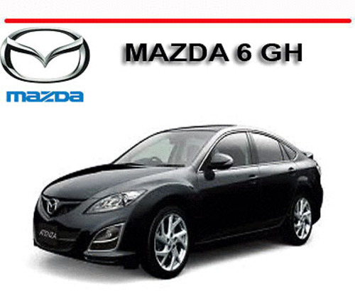mazda 6 gh series 2008 2012 repair owners manual download manua rh tradebit com mazda 6 2008 service manual pdf mazda 6 2006 owners manual