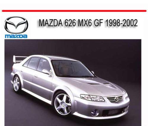 Mazda 626 Mx6 Gf 1998