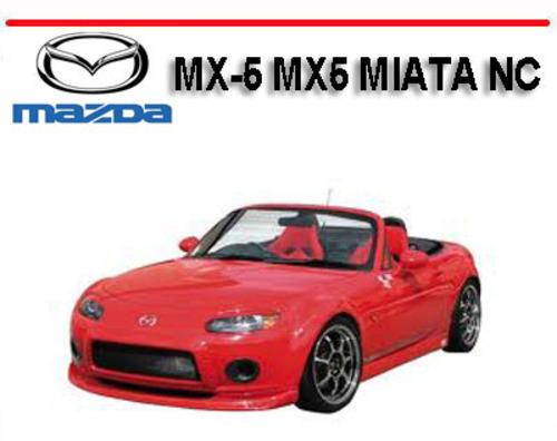 Mazda Mx-5 Mx5 Miata Nc Repair  U0026 Owners Manual