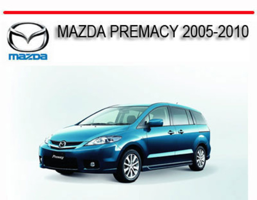 mazda premacy 2005 2010 repair service manual download manuals a rh tradebit com 1994 Mazda MPV Interior Lights Wiring-Diagram 1991 Mazda MPV