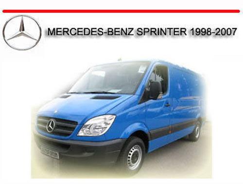 mercedes sprinter workshop manual download free