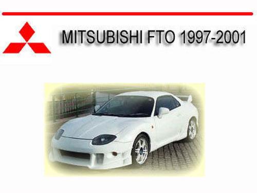 mitsubishi fto 1997 2001 workshop service repair manual download rh tradebit com mitsubishi fto workshop manual Otawwa Workshop Manuals