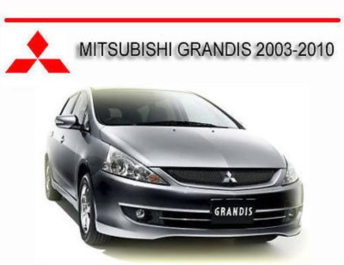mitsubishi grandis 2003 2010 workshop repair manual download manu rh tradebit com mitsubishi grandis manual gearbox mitsubishi grandis service manual