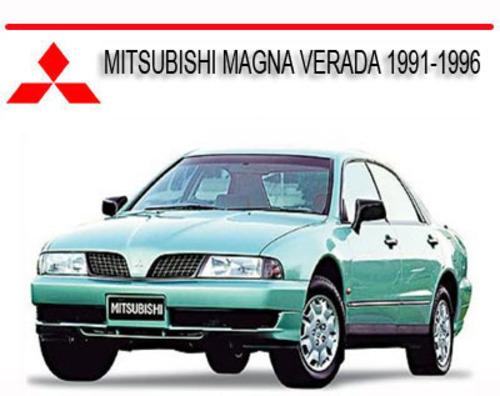 MITSUBISHI MAGNA VERADA 1991-1996 REPAIR SERVICE MANUAL