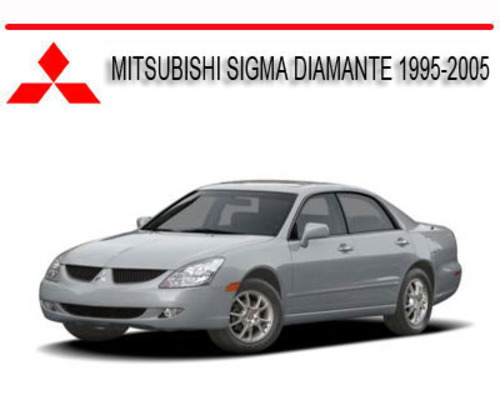mitsubishi sigma diamante 1995 2005 repair service manual downloa rh tradebit com 2001 Mitsubishi Diamante 2001 Mitsubishi Diamante