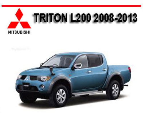 mitsubishi triton l200 2008 2013 workshop repair manual Hyundai L200 Mitsubishi L200 USA