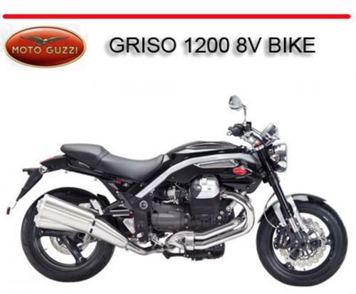 moto guzzi griso 1200 8v bike repair service manual. Black Bedroom Furniture Sets. Home Design Ideas