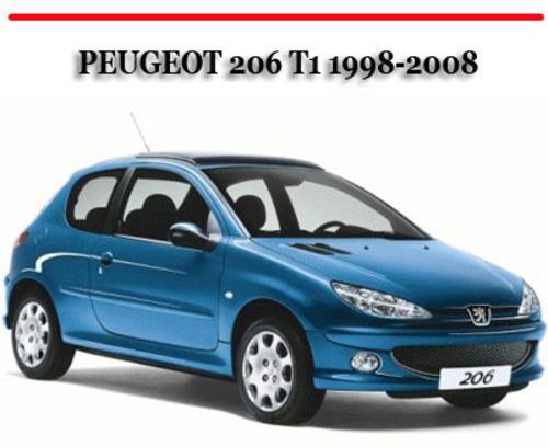 Pay for PEUGEOT 206 T1 1998-2008 FACTORY WORKSHOP REPAIR MANUAL