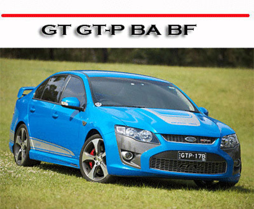 Pay for FORD PERFORMANCE VEHICLE GT GT-P BA BF SERVICE REPAIR MANUAL