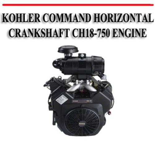 Kohler ch18 service Manual