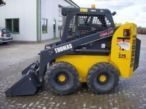 THOMAS SKID STEER 175 1700 WORKSHOP REPAIR & PARTS MANUAL
