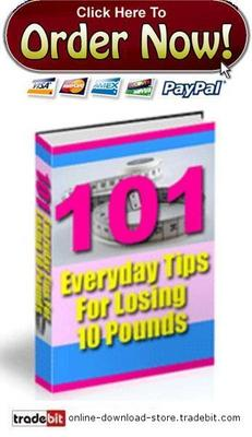 Pay for 101 Everyday Tips for Losing 10 Pounds