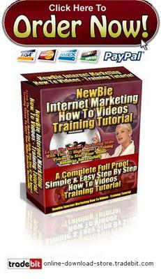 Pay for Newbie Internet Marketing How To Videos Training Tutorial