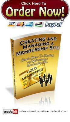 Pay for Creating And Maintaining A Membership Site