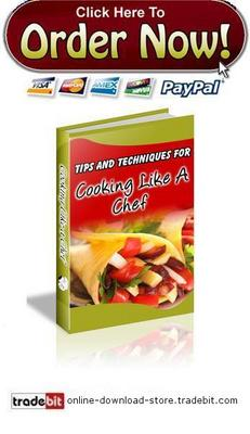 Pay for Cooking Like A Chef