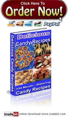 Pay for Delicious Candy Recipes