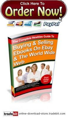 Pay for Buying & Selling The Ebooks On Ebay & The World Wide Web
