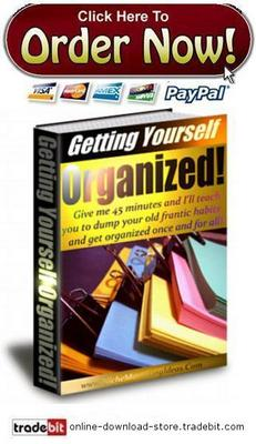 Pay for Getting Yourself Organized