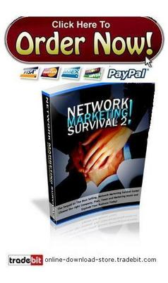 Pay for Network Marketing Survival
