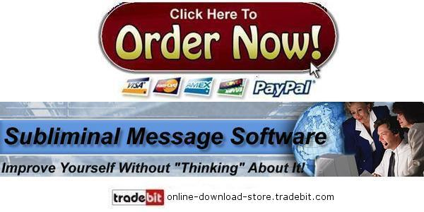 Pay for Subliminal Message Software