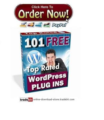 Pay for 101 Top Rated Wordpress Plugins