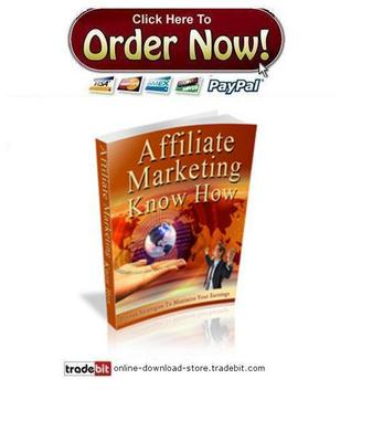 Pay for Affiliate Marketing Know How