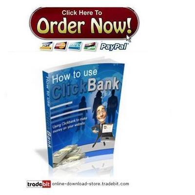Pay for How To Use Clickbank