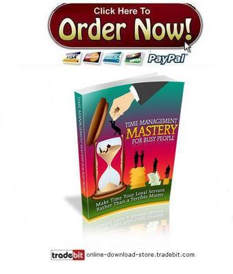 Pay for Time Management Mastery For Busy People