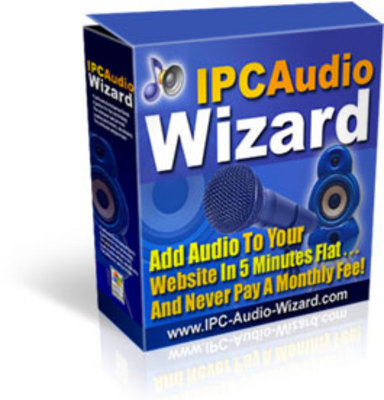 Pay for IPC Audio Wizard ! Add Web Audio To Your Website.