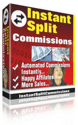 Pay for Instant Split Commissions + Source Code +  RR