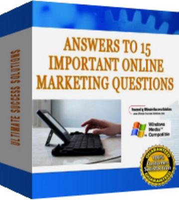 Pay for 15 Of The Biggest Questions In Online Marketing (MRR)