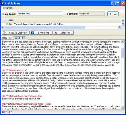 Pay for Articles Idea Software