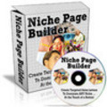 Thumbnail Niche Page Builder**Software with Master Resell Rights