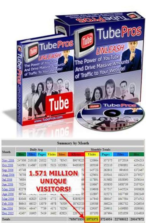 Pay for *new* Tube Pros With Master Resale Rights ! Plus Video Web W