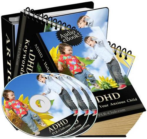 Pay for ADHD Helping Your Child audios and articles/PLR
