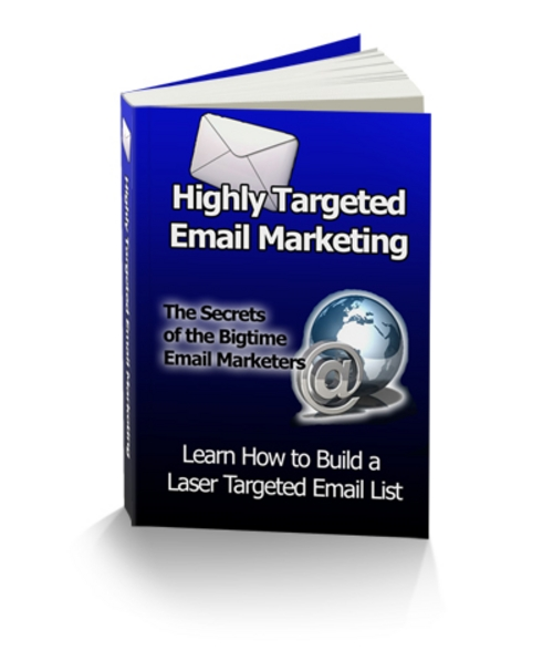 Pay for Highly Targeted Email Marketing PLR