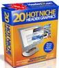 Thumbnail 20 Hot Niche PSD & JPG Header Graphics