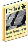 Thumbnail How To Write Special Feature Articles