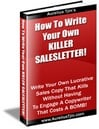 Thumbnail How To Write Your Own Killer Salesletter