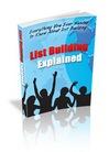 Thumbnail List Building Explained