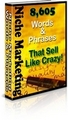 Thumbnail 8,605 Niche Marketing Words And Phrases That Sell Like CRAZY